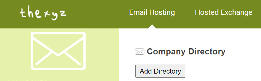 Add shared directory to Webmail