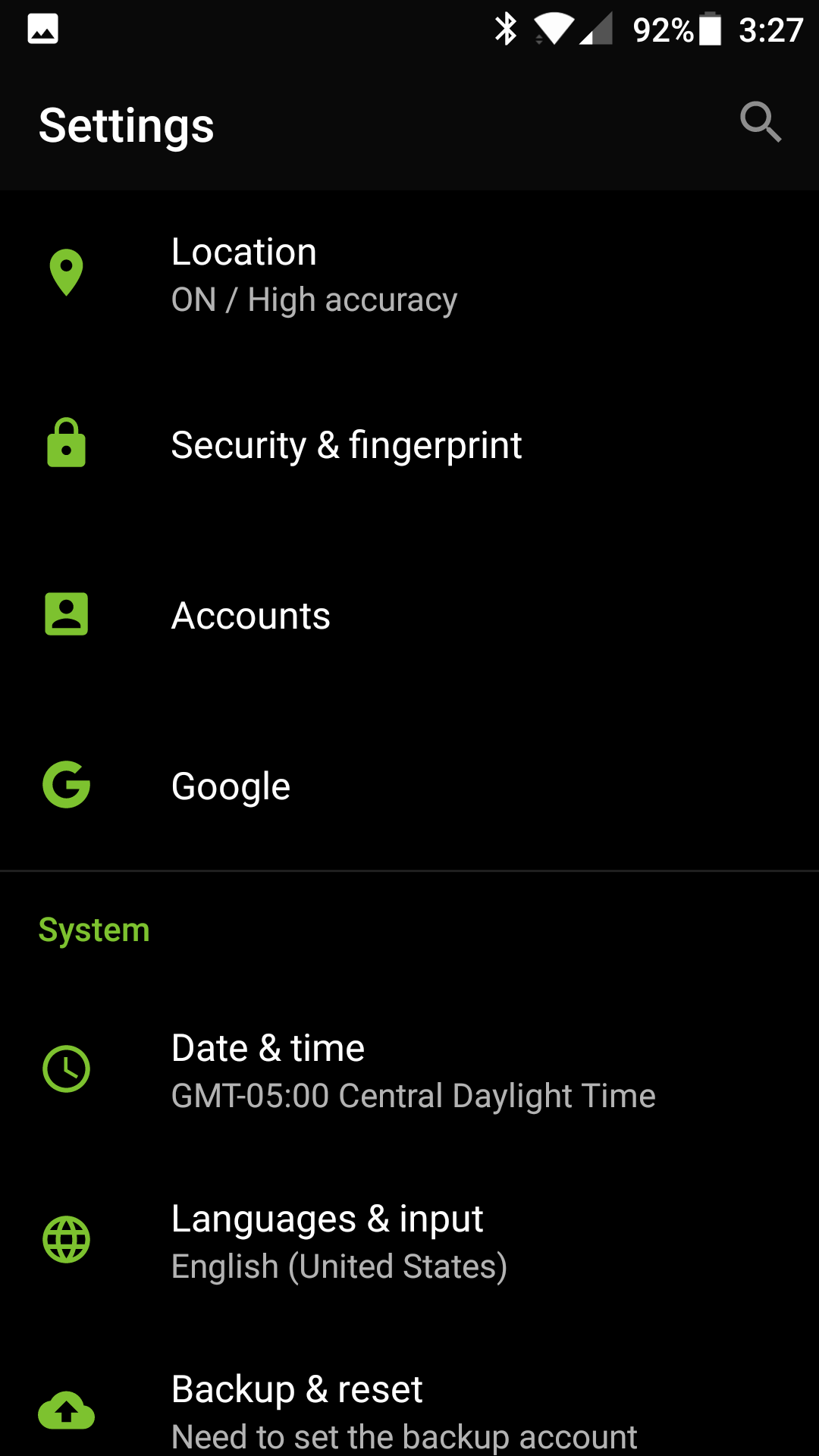 OnePlus email setup