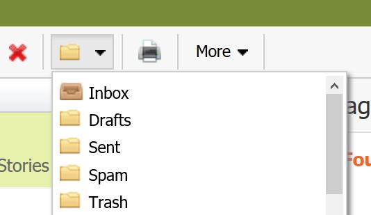 Select move folder