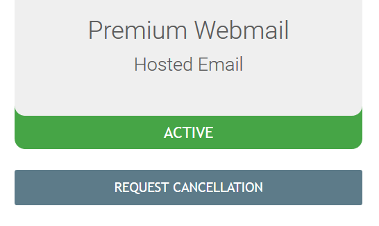 Request to cancel