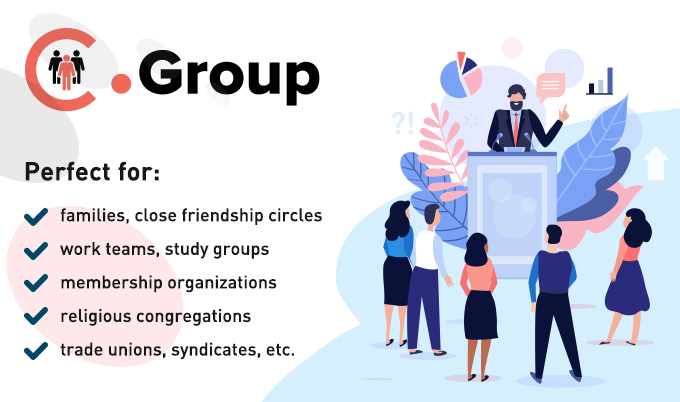 .Group domain registrations