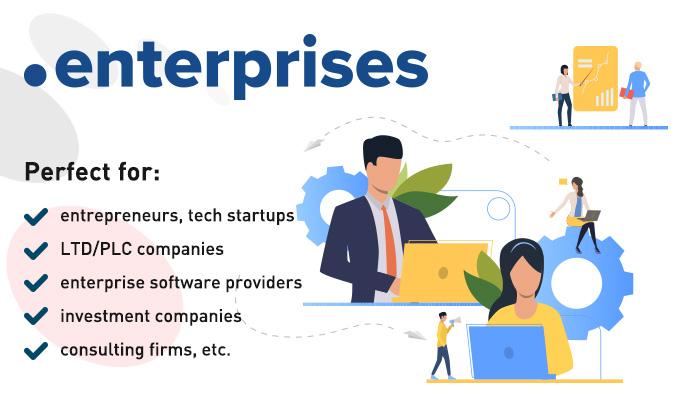 .enterprises domain extension