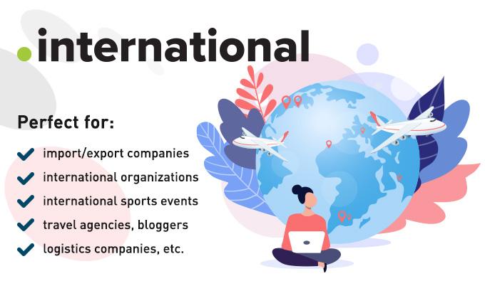 .international domain names